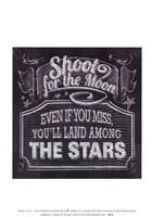 Chalkboard - The Moon & The Stars Fine-Art Print