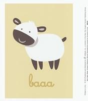 Barn Baby Baaa Fine-Art Print