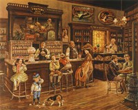 Turn of the Century Drug Store Fine-Art Print