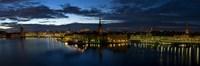 Stockholm by Night Fine-Art Print