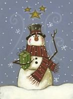 The Snowman's Gift Fine-Art Print