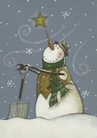 Snowman at Rest Fine-Art Print