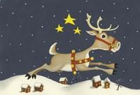 Santa's Reindeer Fine-Art Print