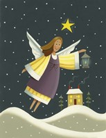 Angel with a Lantern Fine-Art Print