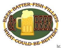Beer Batter Fish Fillets Fine-Art Print