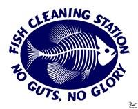 Fish Cleaning No Guts No Glory Fine-Art Print