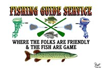 Fishing Guide Service Fine-Art Print