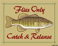 Flies Only Catch & Release Fine-Art Print
