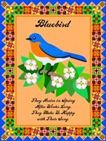 Bluebird Quilt Fine-Art Print