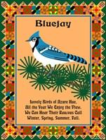 Blue Jay Quilt Fine-Art Print
