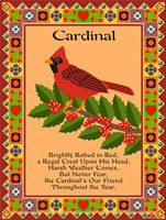 Cardinal Quilt Fine-Art Print