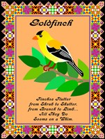 Goldfinch Quilt Fine-Art Print