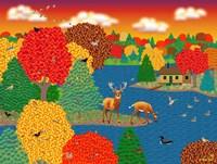 Deer Lake Fine-Art Print