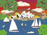 Dream of Sydney Fine-Art Print