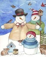 Happy Holiday Snow Fine-Art Print