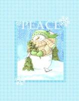 Snowman Joy Fine-Art Print