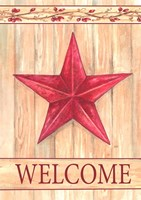Barn Star Welcome Fine-Art Print
