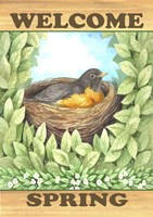Welcome Spring Robin Fine-Art Print