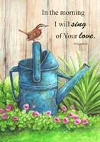 Wren Watercan, Psalm Fine-Art Print