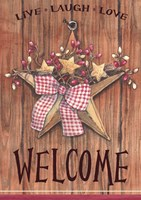 Country Star Welcome Fine-Art Print