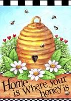 Bee Hive Home Fine-Art Print