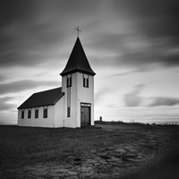 Iceland Hellnar Church Fine-Art Print