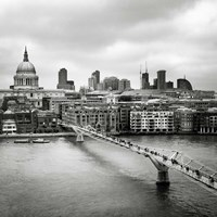 London Millenium Bridge Fine-Art Print