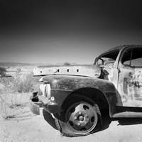 Namibia Rotten Car Fine-Art Print