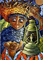 Boy & Lantern Fine-Art Print