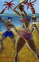 En Luquillo Se Goza Fine-Art Print