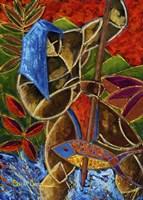 Guarani Hombre De Familia Fine-Art Print