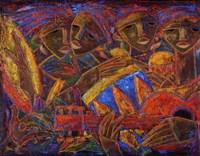 Musas Del Caribe Fine-Art Print