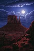 Navaho Moon Fine-Art Print