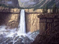 Canyon Cascade Fine-Art Print