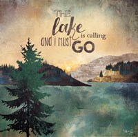 The Lake is Calling Fine-Art Print