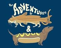 Catfish Wienerdog Fine-Art Print