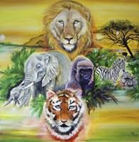 Fantasy Safari Fine-Art Print