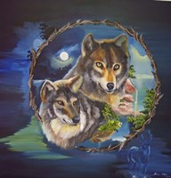 Magical Wolves Fine-Art Print