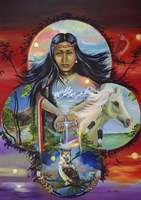 Sky Woman Fine-Art Print