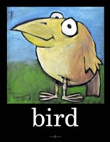 Bird Poster Fine-Art Print