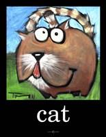 Cat Poster Fine-Art Print