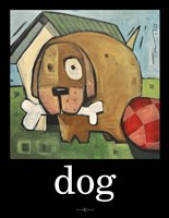 Dog Poster 2 Fine-Art Print