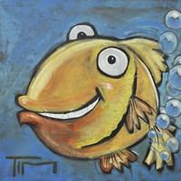 Farting Fish Fine-Art Print