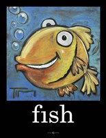 Fish Poster Fine-Art Print
