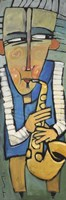 Saxophone Player Fine-Art Print