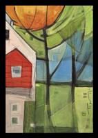 House In Trees Fine-Art Print
