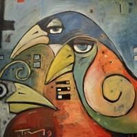 Trois Oiseaux Fine-Art Print