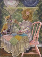 A Friend For Tea Fine-Art Print