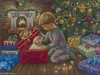 A Golden Christmas Fine-Art Print