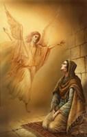 Angel and Mary Fine-Art Print